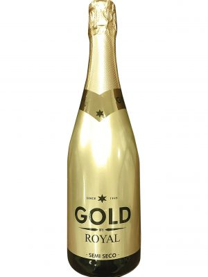 Gold Royal Semi Seco, Espumoso